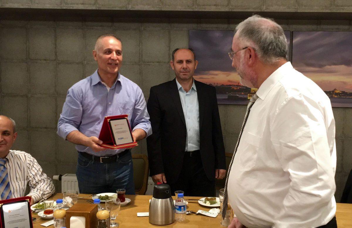 BALÇIK Isıtma Elemanları ISK SODEX 2016 Orta Doğu Temsilcisi Ödülü